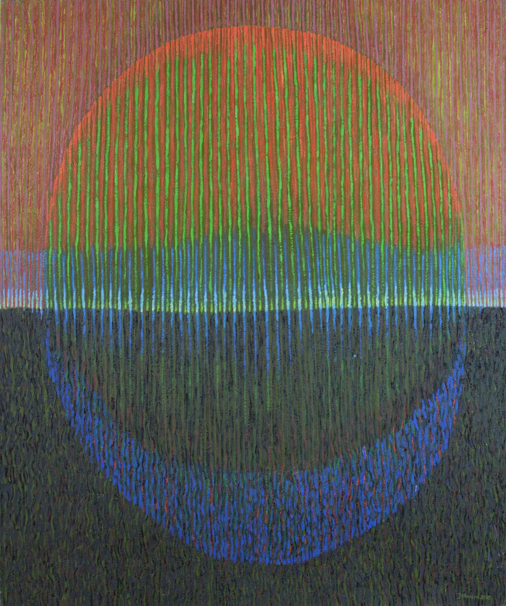 Pejzaż 2015-3, 100x120 cm