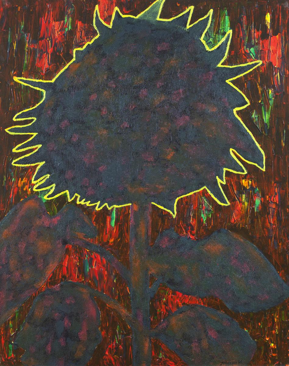 Słonecznik-1, 100x80 cm