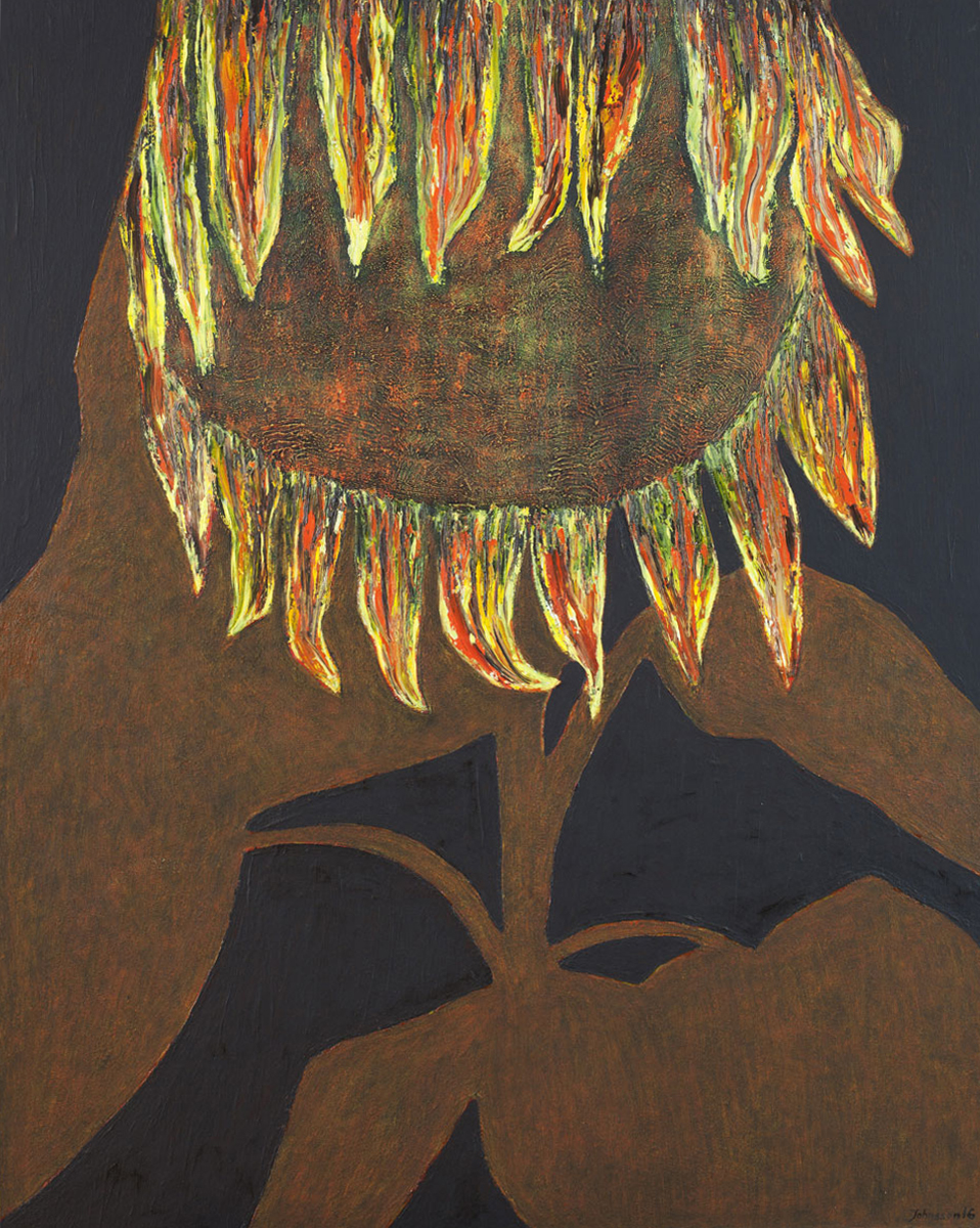 Sunflower-2, 100x80 cm