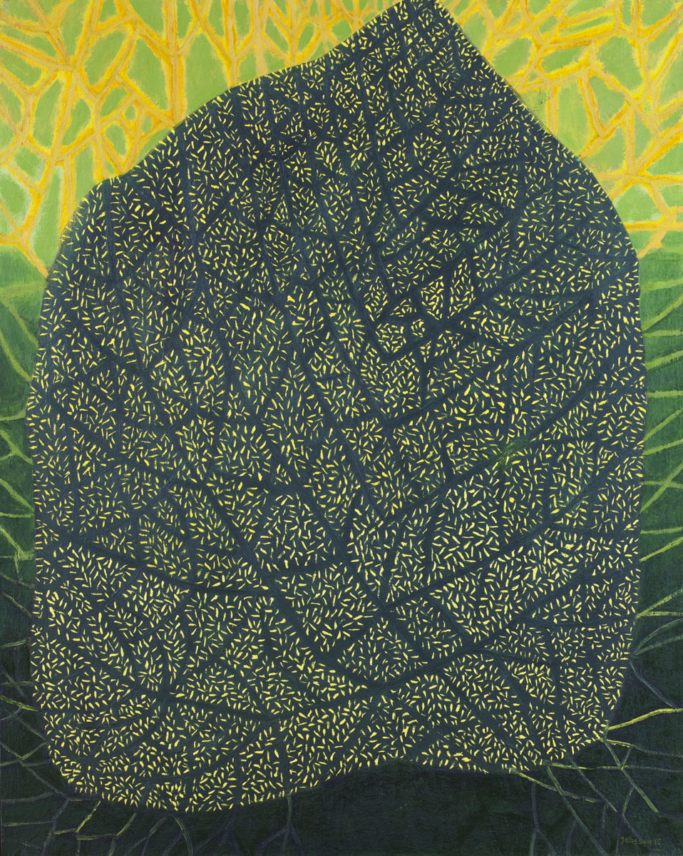 Great leaf-2, 100x80 cm