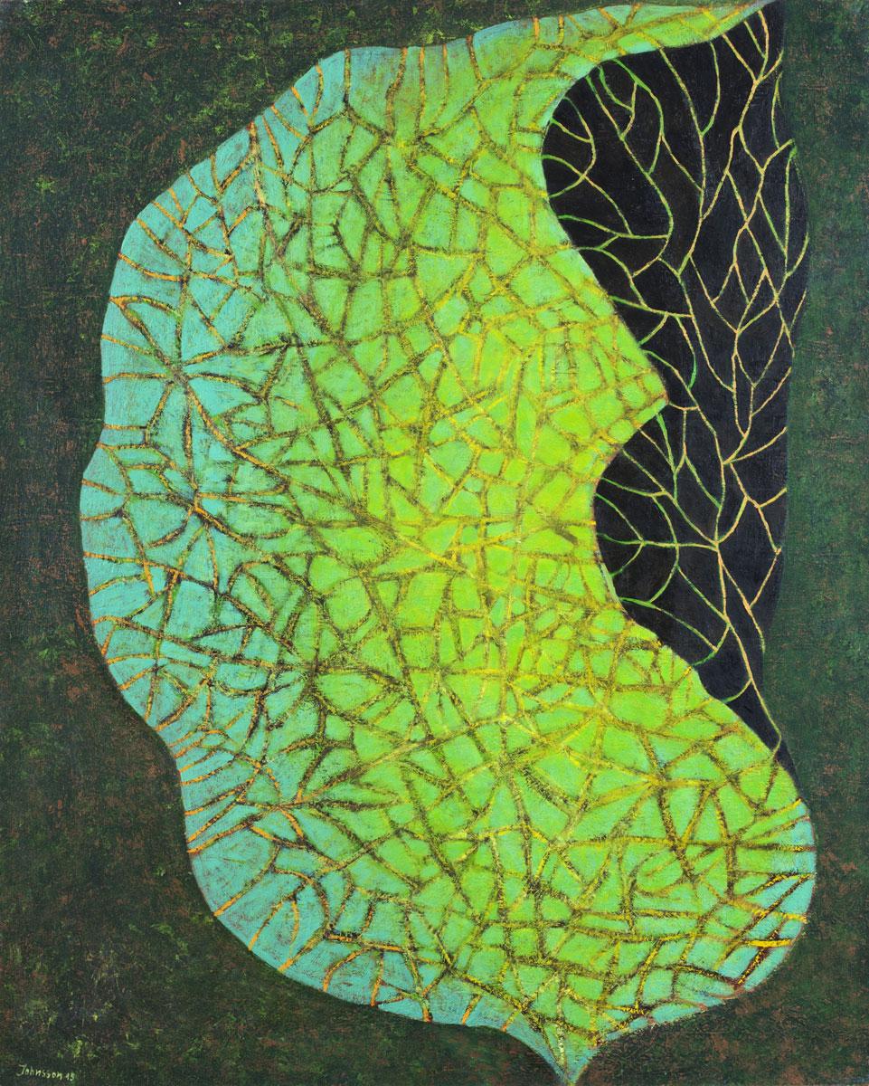 Great leaf-4, 100x80 cm