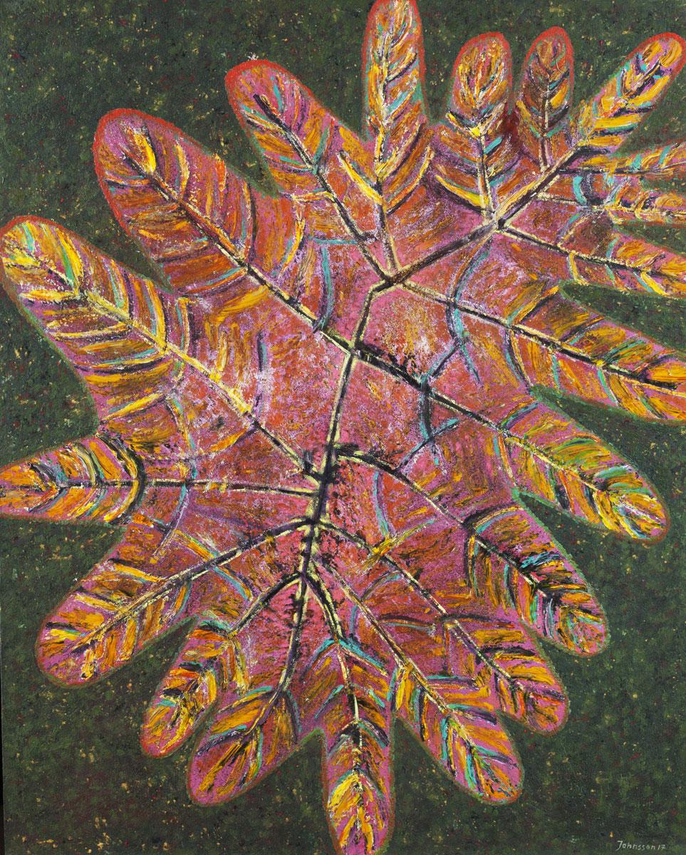 Great leaf-5, 100x80