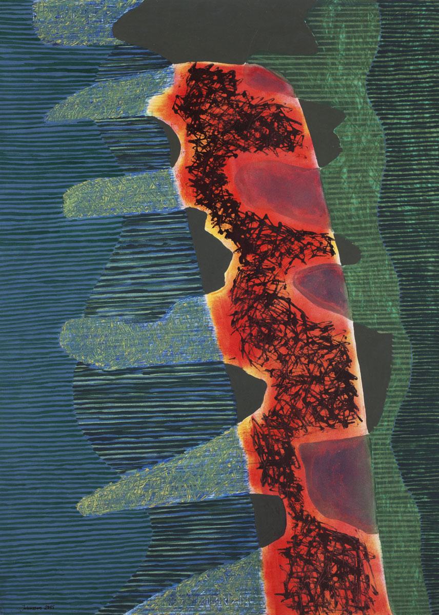 Landscape 2015, 70x50 cm