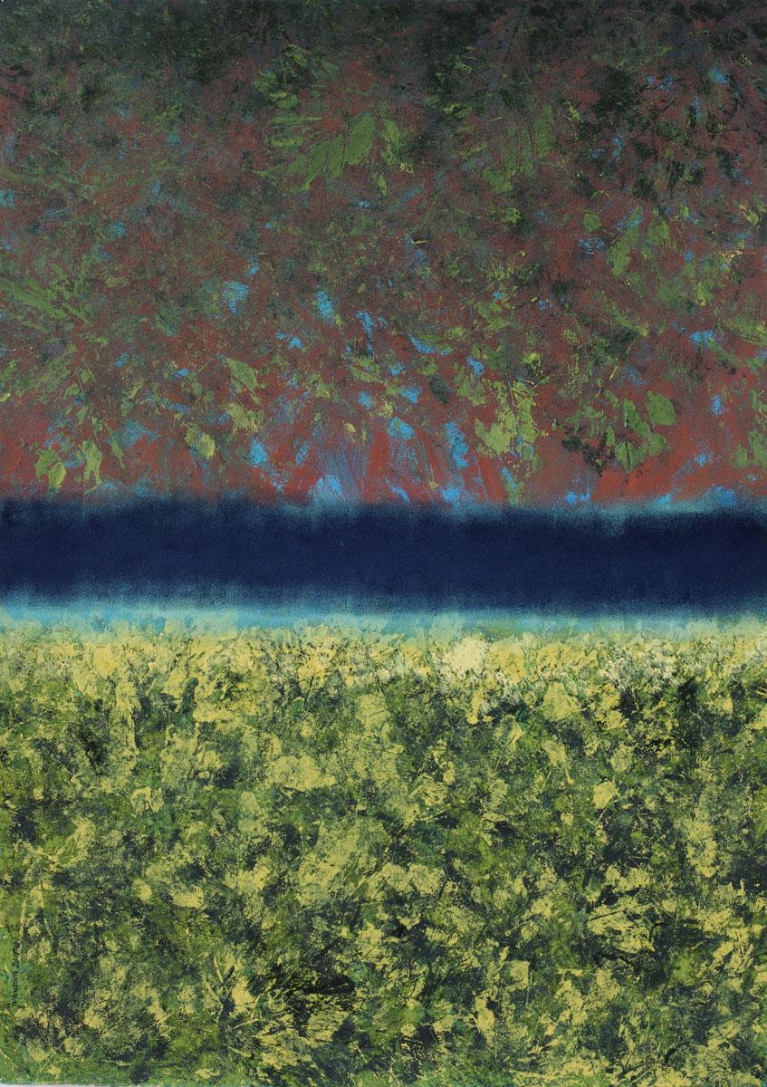 Pejzaż jesienny-1, 50x70 cm