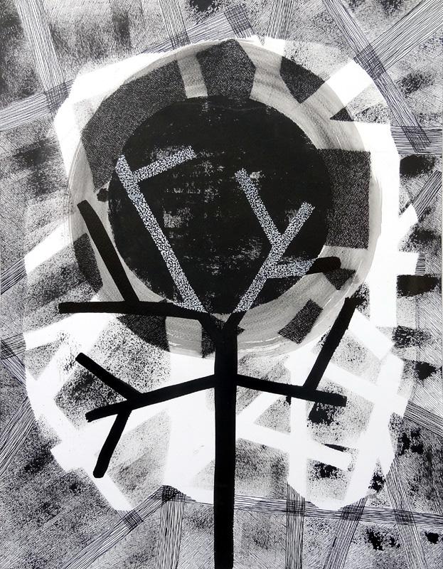 Pejzaż-4, 56x42 cm