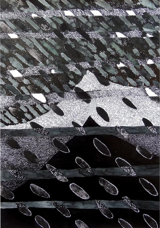 Landscape-5, 32x30 cm
