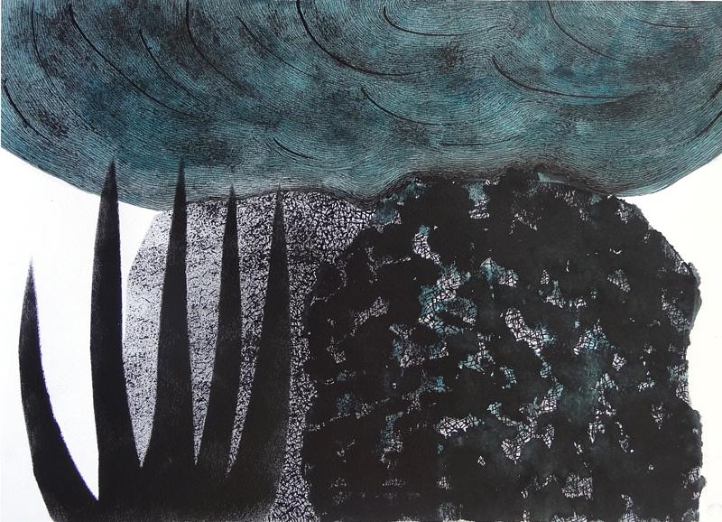 Landscape-10, 30x42 cm