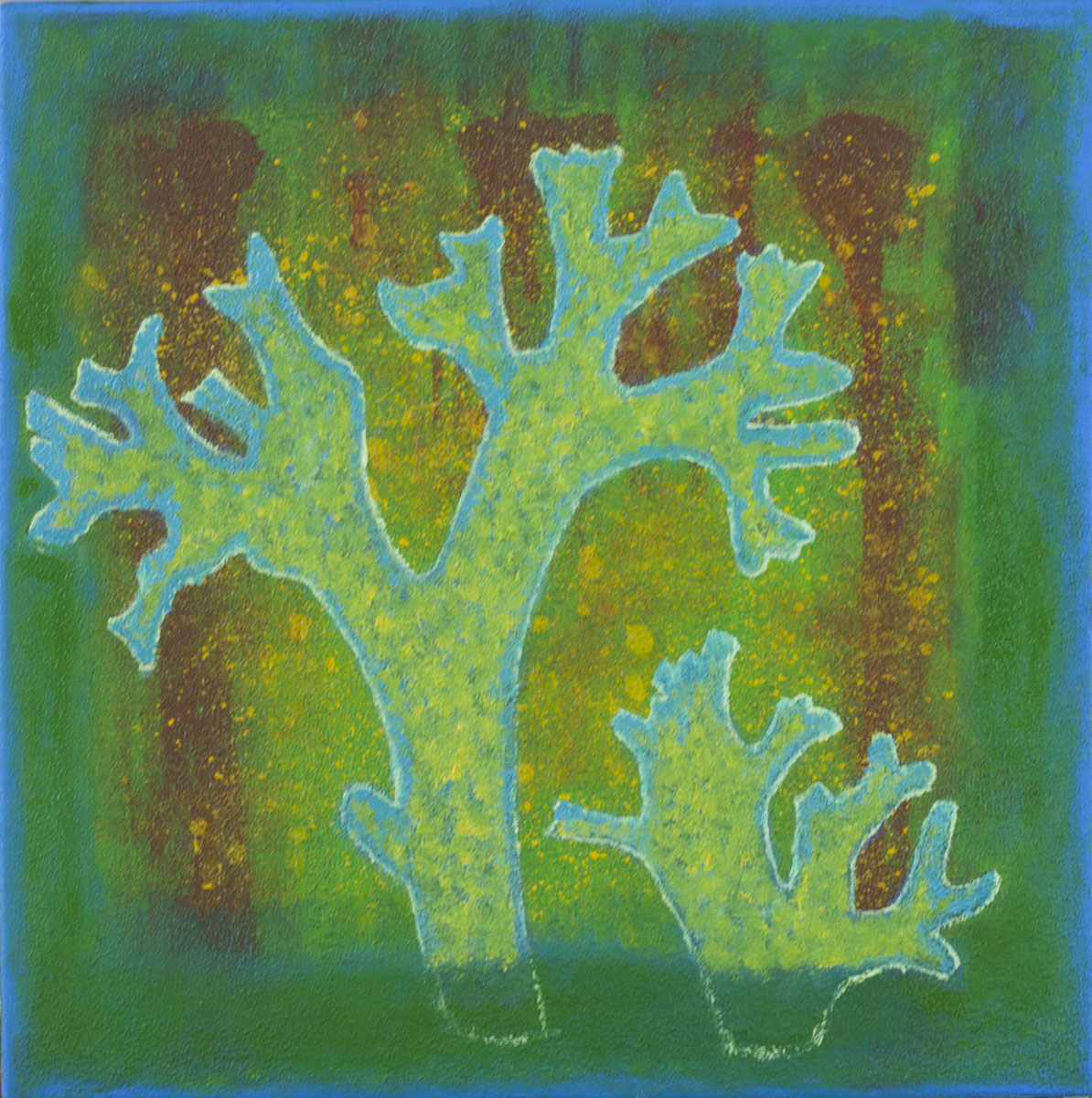 Growths- 3, 40x40 cm