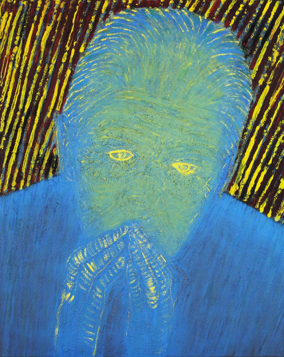 Adam, oil canvas,  80 x 56 cm