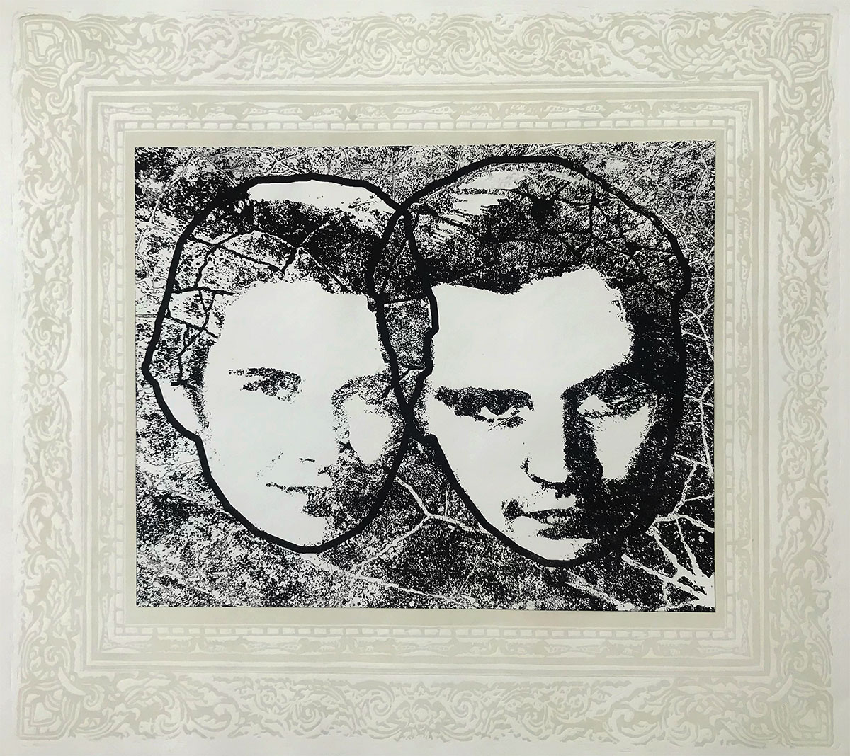Portrait in frames - 1