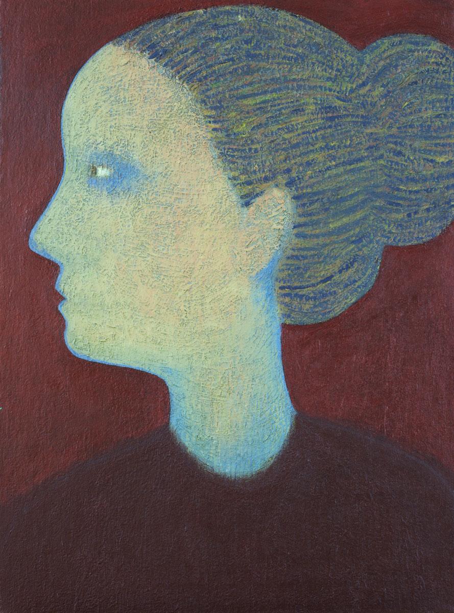 Joanna, olej płótno, 80 x 60 cm