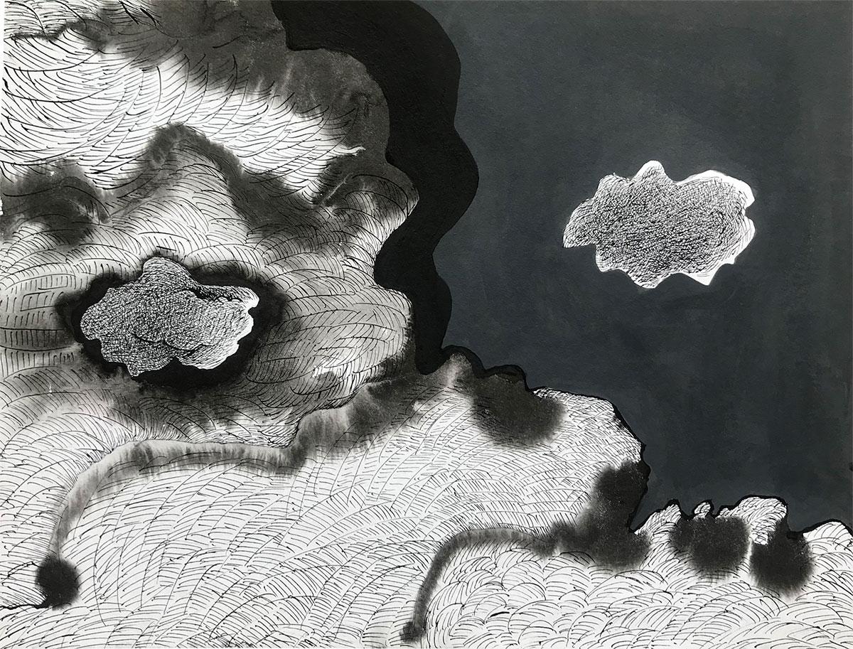 Cloudy landscape-3