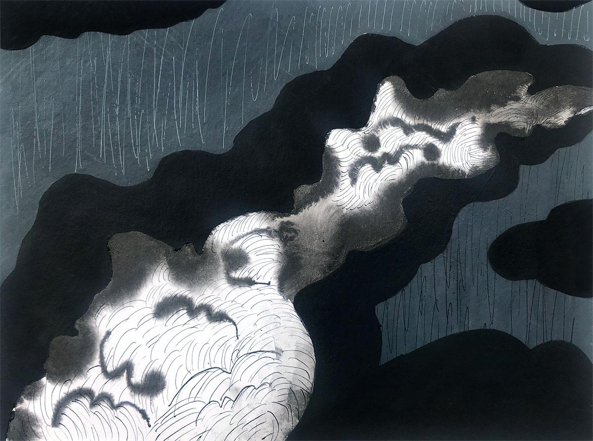 Cloudy landscape -6