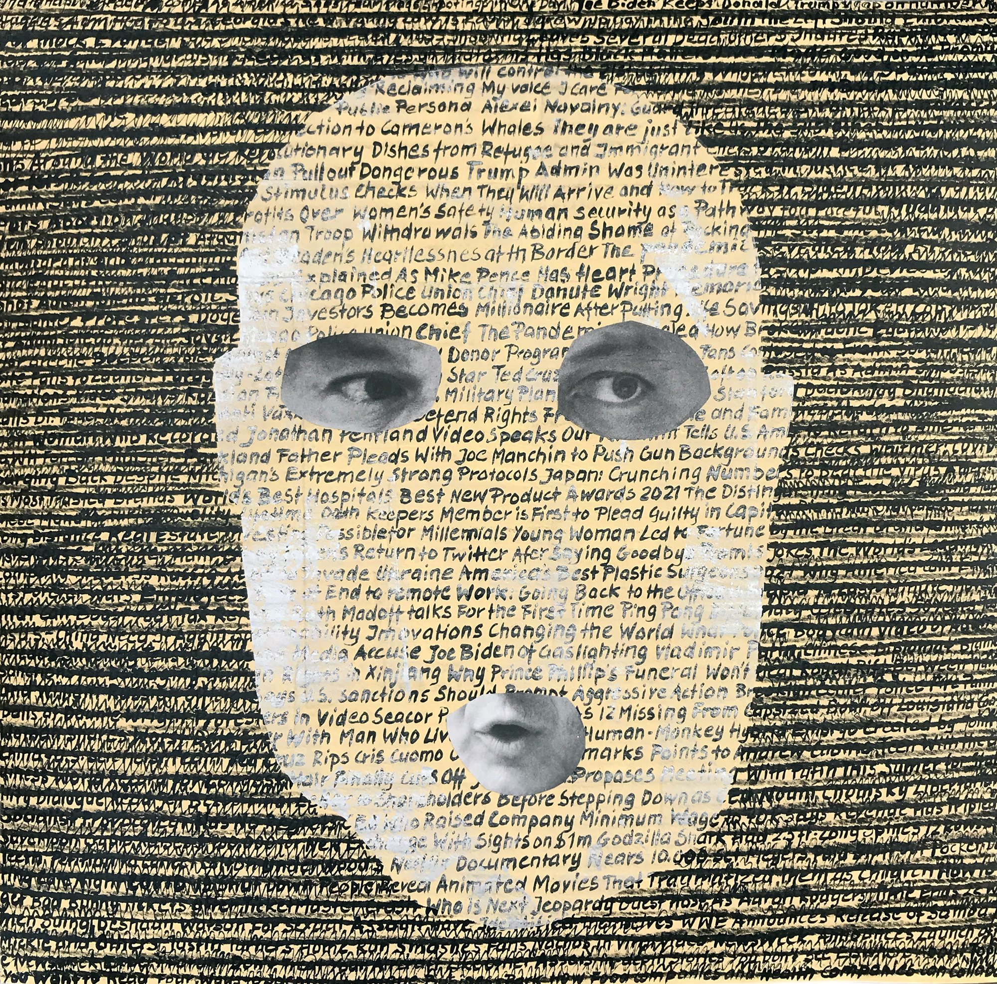 Newspaper portrait - 12