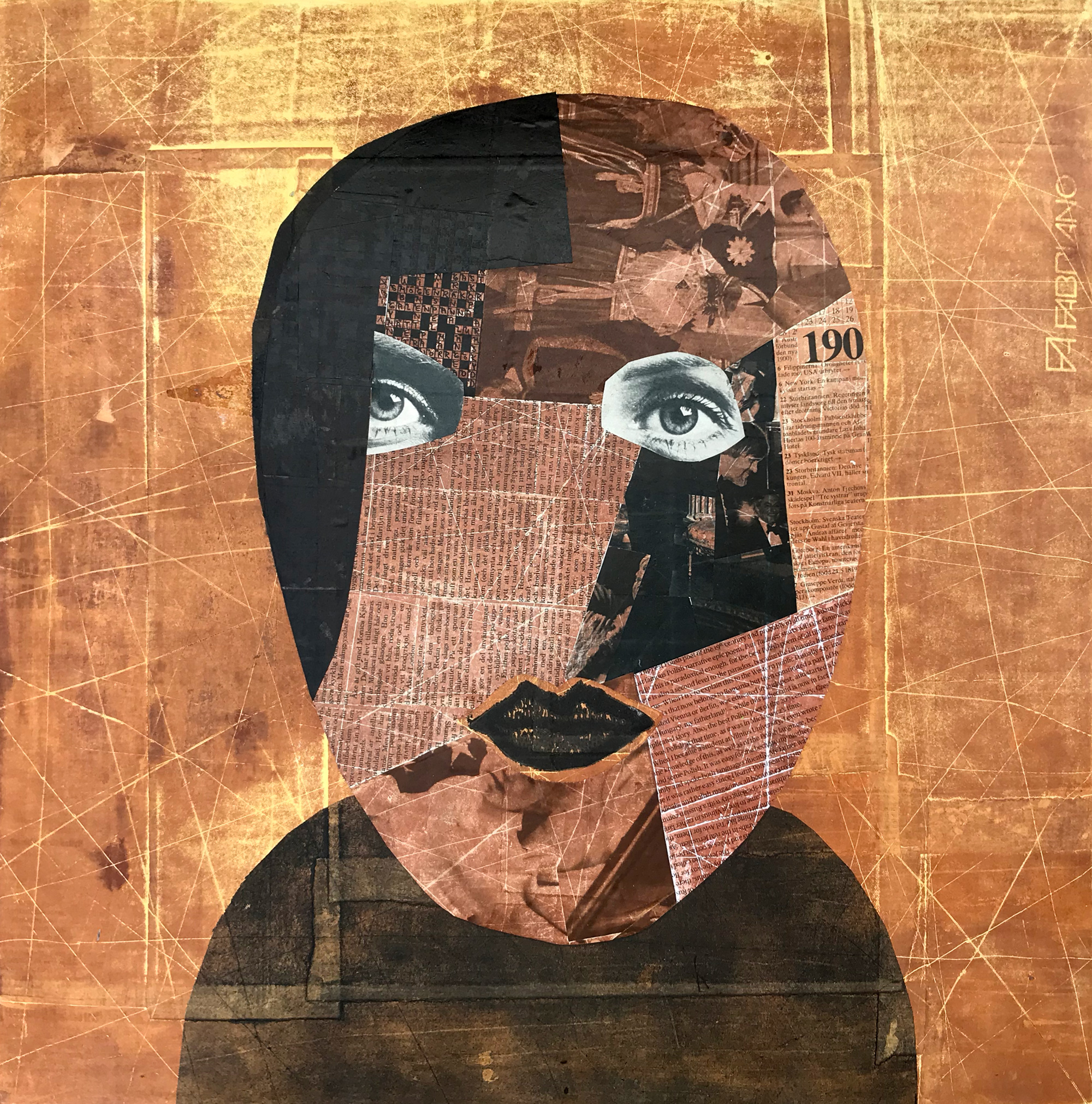 Newspaper portrait - 13